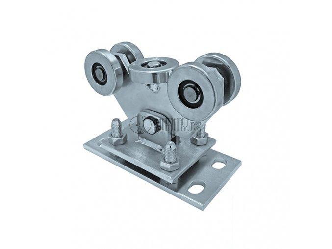VO80 - stavitelný kyvný pojezdový vozík k c profilu 80x80mm