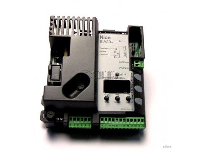 NICE SIA20/A - řídící jednotka pro závory SIGNO3, SIGNO4 a SIGNO6
