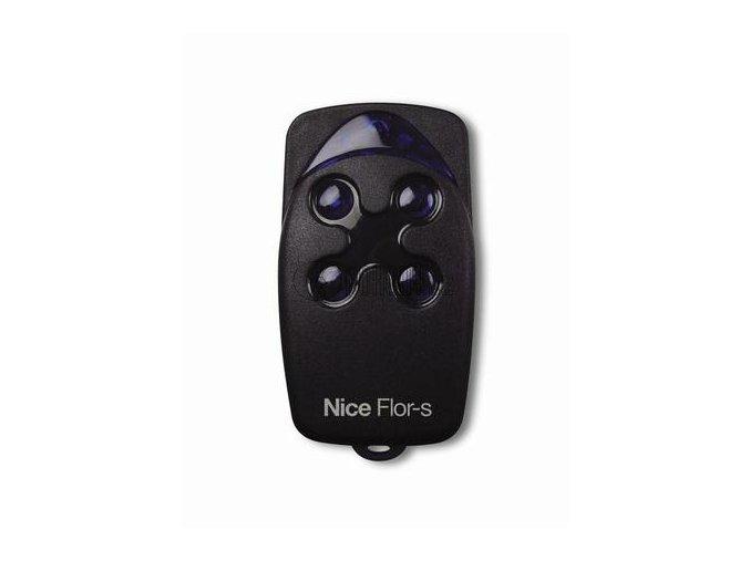 Dálkový ovladač NICE FLO4R-S, plovoucí kód, 4-kanálový 433 MHz