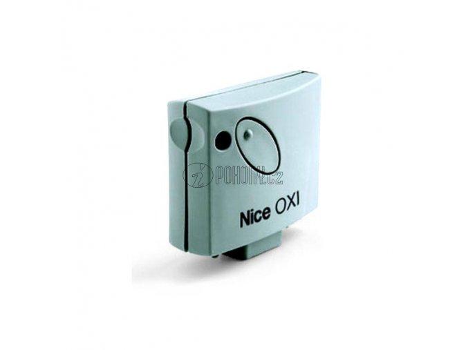 NICE OXI- 4-kanálový zásuvný přijímač s plovoucím kódem, 433 MHz