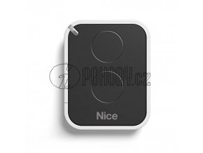 Dálkový ovladač NICE ON2E, plovoucí kód, 2-kanálový 433 MHz, náhrada FLO2R-S, FLO2RE