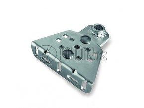 PLA15 - nastavitelná zinkovaná konzole pro přišroubování