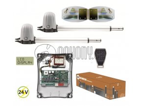 KEY STAR2024 KIT - sada STARKIT s pohony PS200 pro dvoukřídlou bránu do 4m