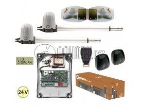 KEY STAR2024 KIT FT - rozšířená  sada STARKIT s pohony PS200 pro dvoukřídlou bránu do 4m