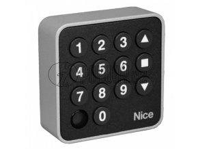 NICE EDSW - bezdrátová digitální klávesnice, plovoucí kód, 3-kanálová, 433 MHz