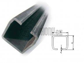 C94x85mm ZN - nosný c profil samonosné posuvné brány - délka 6m