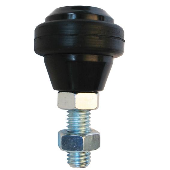Stavitelná vodící rolna s gumovým prstencem - průměr 43mm