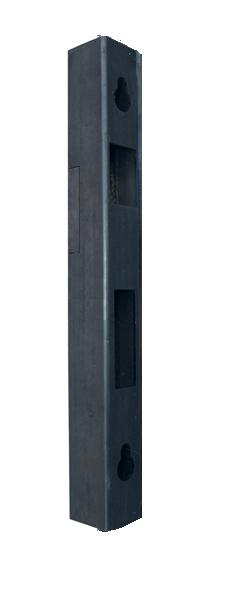 Universální doraz branky z profilu 40x30mm