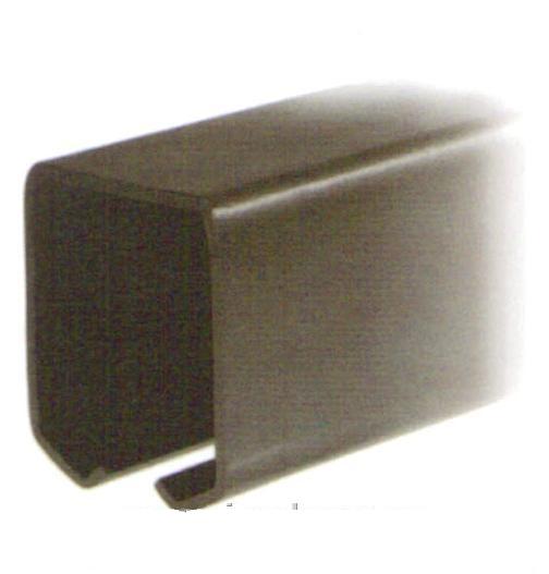 Závěsná dráha 42x54mm pro závěsná vrata - FE bez povrchové úpravy - délka 6m