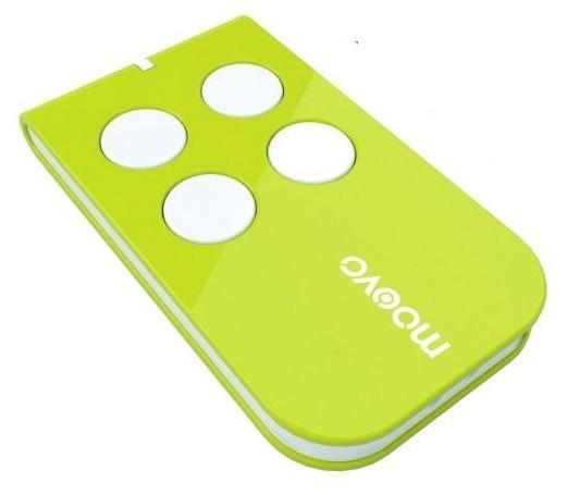 MOOVO MT4 - dálkový ovladač, plovoucí kód, 4-kanálový, 433 MHz, zelený