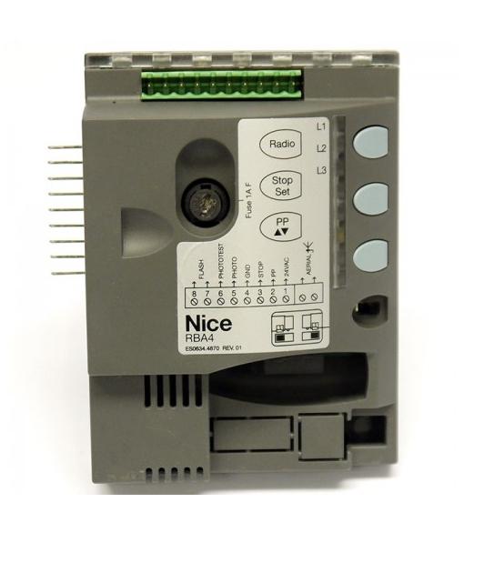 NICE RBA4 - řídící jednotka pro pohony ROAD200 a ROAD400