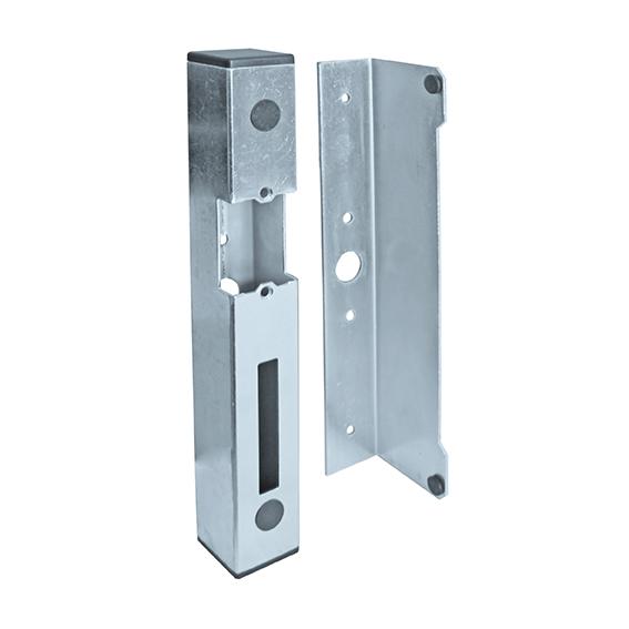 Celozinkovaný univerzální doraz branky pro elektrický zámek