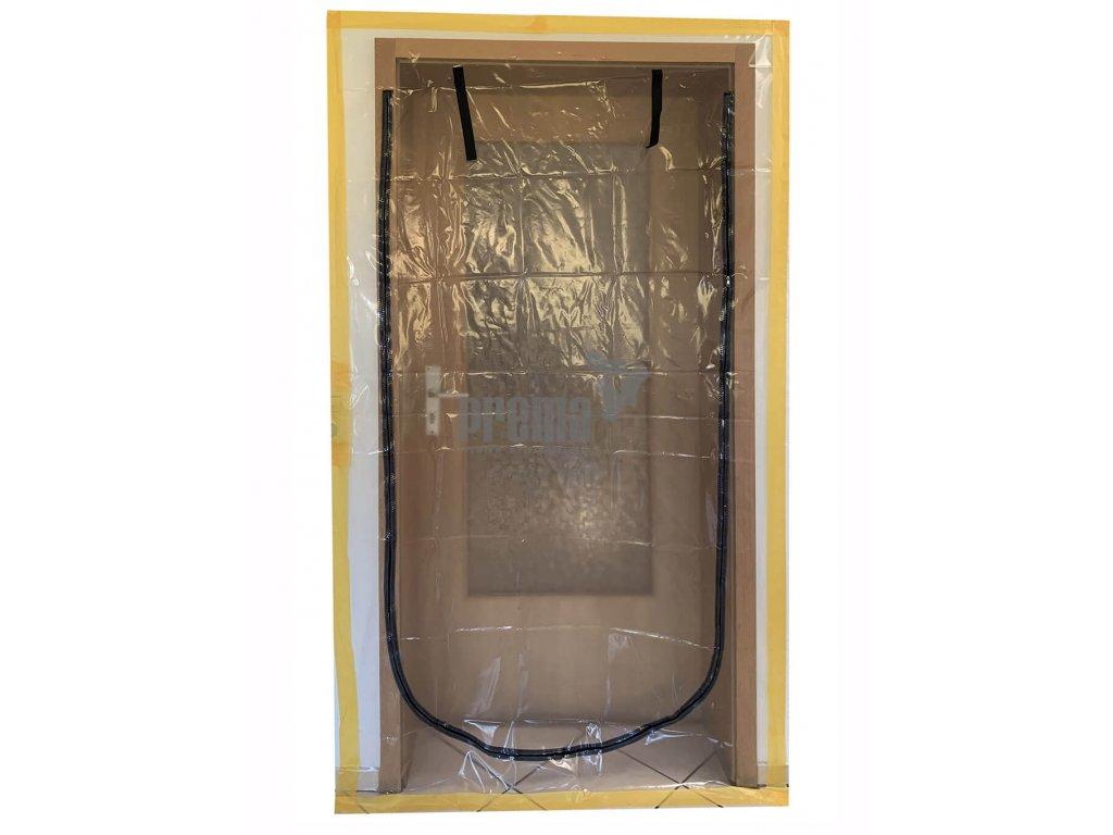 Staubschutztüre Folie U Form 110x210cm