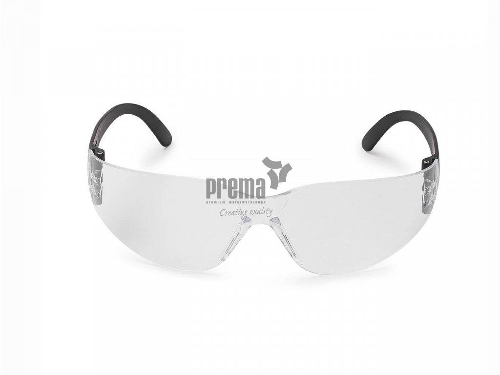 Schutzbrille BASIC klar Nitras 9000, Front