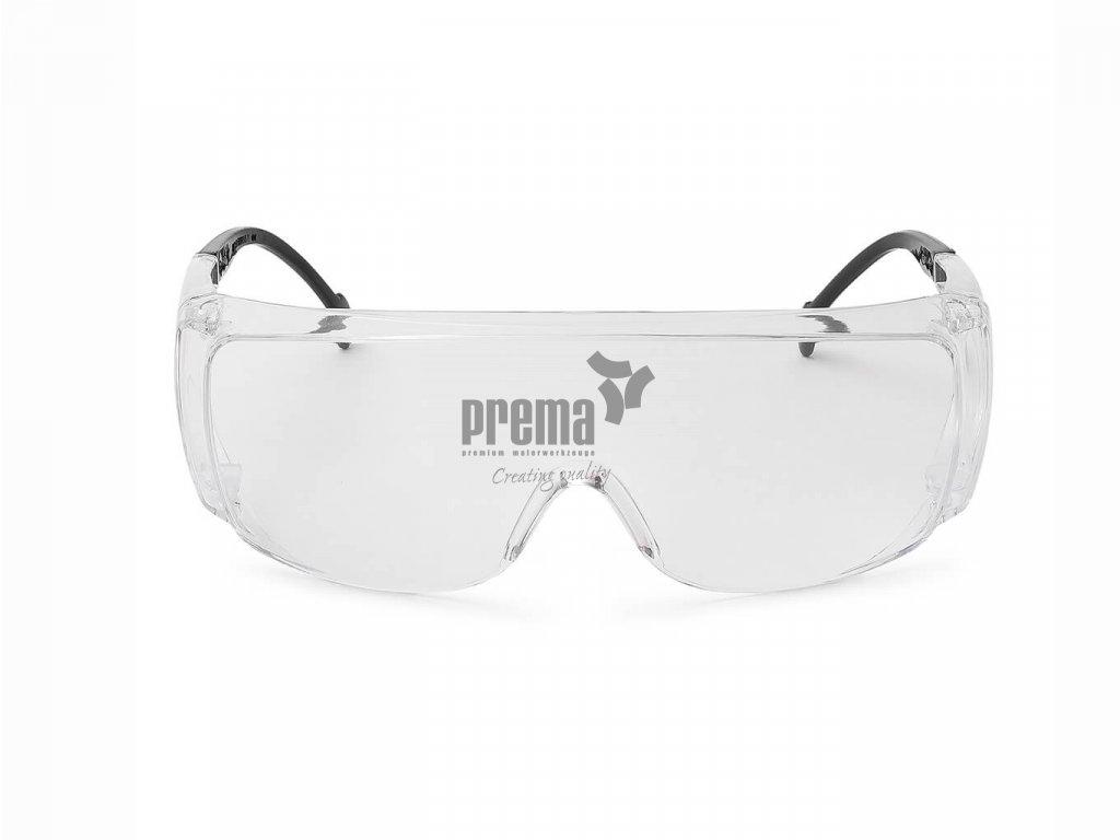 Schutzbrille OTG, Nitras 9015, Front