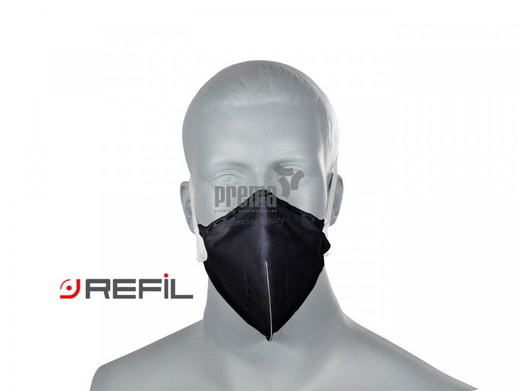 Refil Atemschutzmaske, Refil Profi FFP2, Refil 730 schwarz, Refil Respirator