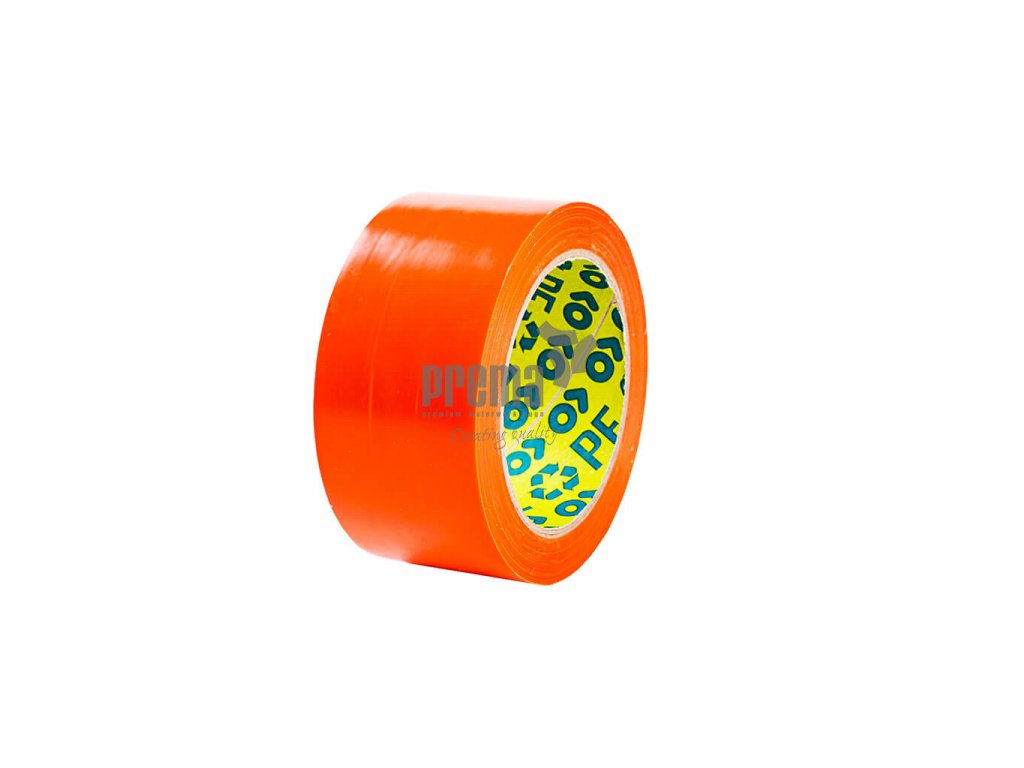 PE Bautenschutzband orange