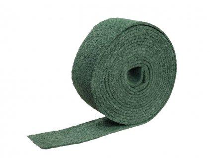 Reinigungsvlies grün 10m lang, 115mm