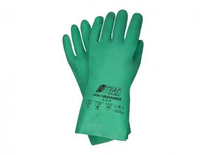 Nitril Handschuhe Nitrex grün Nitras 3450