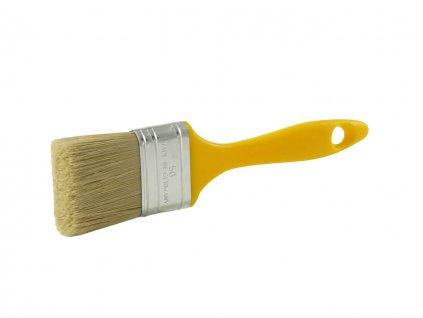 Flachpinsel Kunststoffstiel gelb