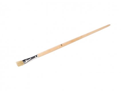 Gussowpinsel langer Holzstiel