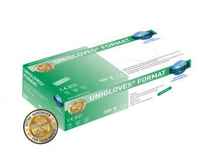 Nitrilhandschuhe mit Chemikalienschutz white