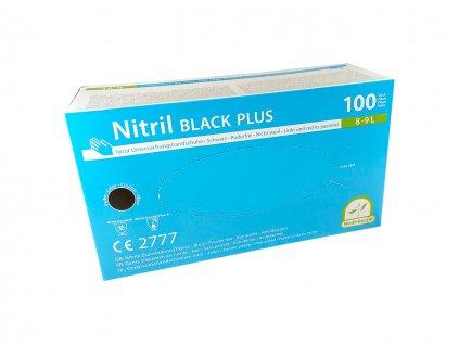 Nitrilhandschuhe Medi Inn Black Plus, 100 Stück Box