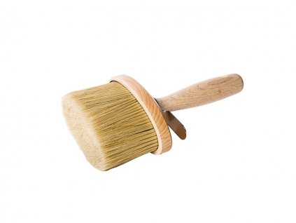 Malerstreichbürstchen oval Holz