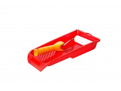 Heimwerker Set, rot, kleine Wanne