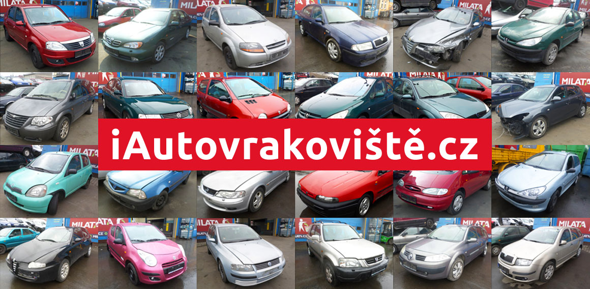 iAutovrakoviště - Použité autodíly z autovraků