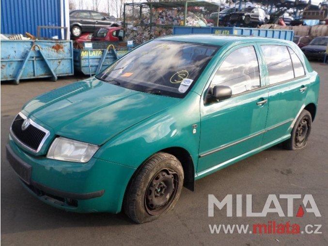 Použité autodíly ŠKODA FABIA 1.4 MPI 2004