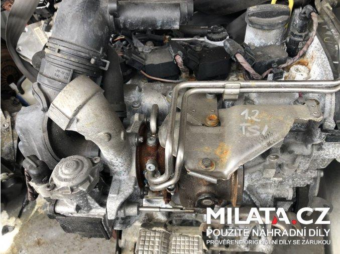Benzínový motor 1.2 TSI 81kW - použitý