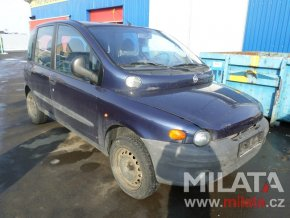 Použité autodíly FIAT MULTIPLA 186 1.6