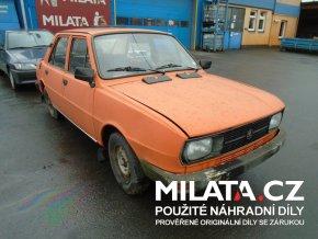Použité autodíly ŠKODA 120 L 1982