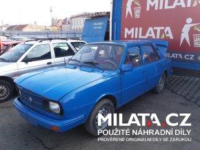 Použité autodíly ŠKODA 105 L MODRÁ