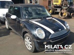 Použité autodíly MINI COOPER R50 1.6