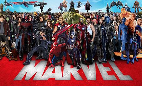 Oblečení Marvel Comics
