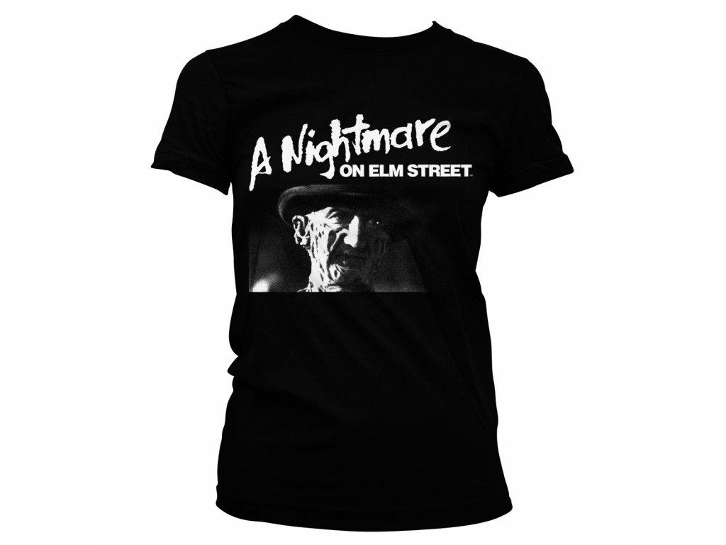 Dámské tričko A Nightmare On Elm Street (Výběr velikosti L)