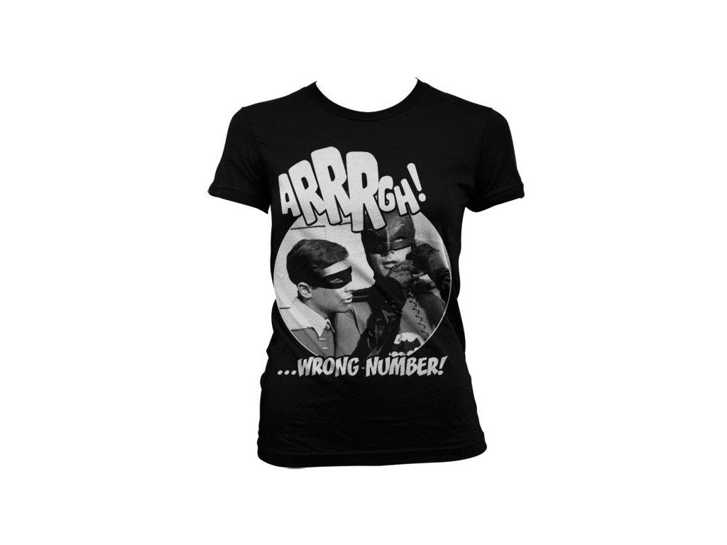 Dámské tričko Arrrgh - Wrong Number (Výběr velikosti XXL)