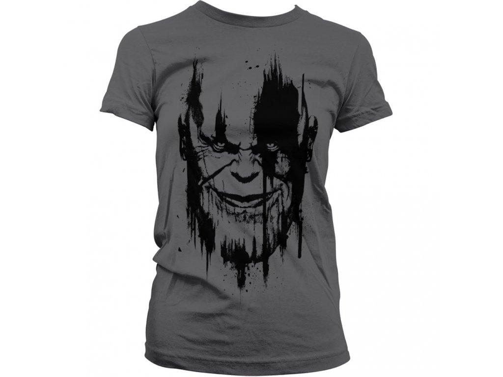 Dámské tričko Avengers  Infinity War THANOS (Výběr velikosti XXL)