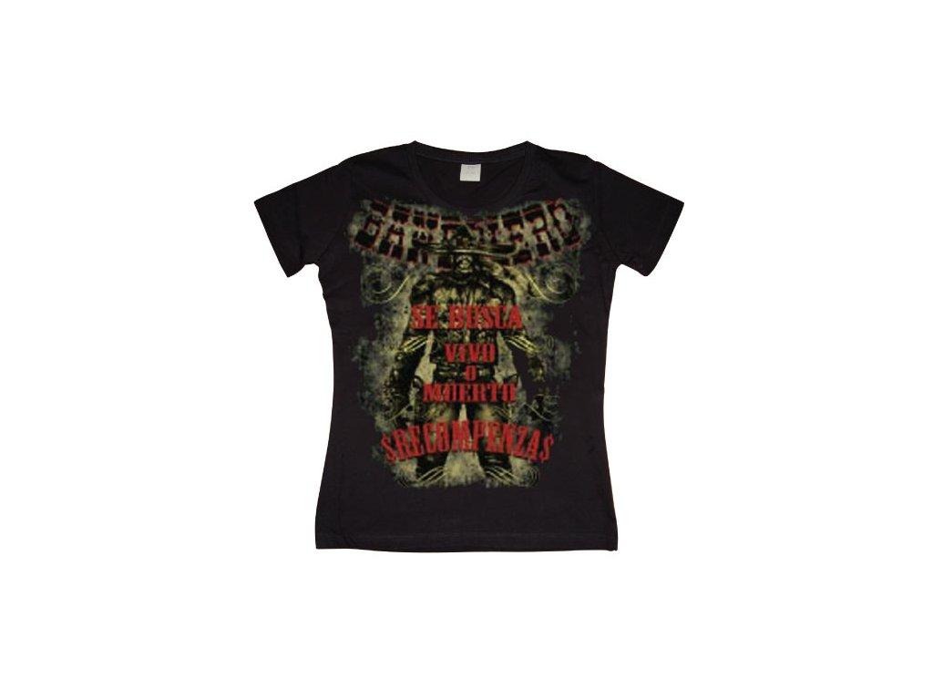 Dámské tričko Bandolero (Výběr velikosti XL)