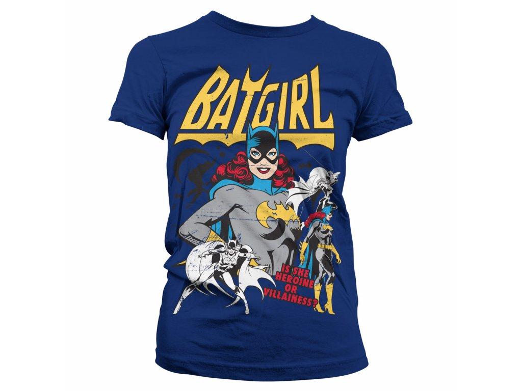 Dámské tričko Batgirl - Hero Or Villain (Výběr velikosti XXL)