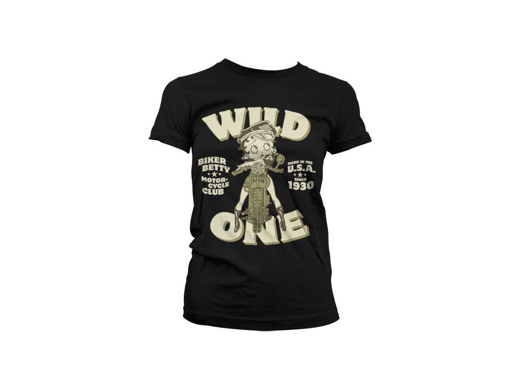 Dámské tričko Betty Boop MC Club (Výběr velikosti XXL)