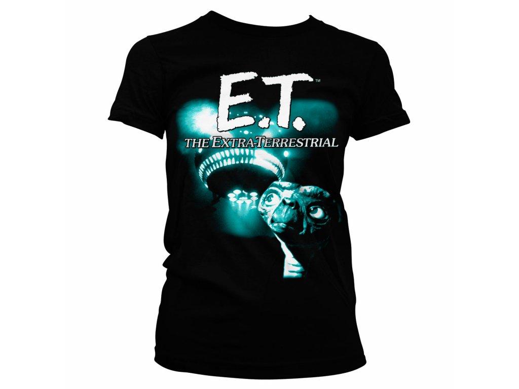 Dámské tričko E.T. Duotone (Výběr velikosti XXL)