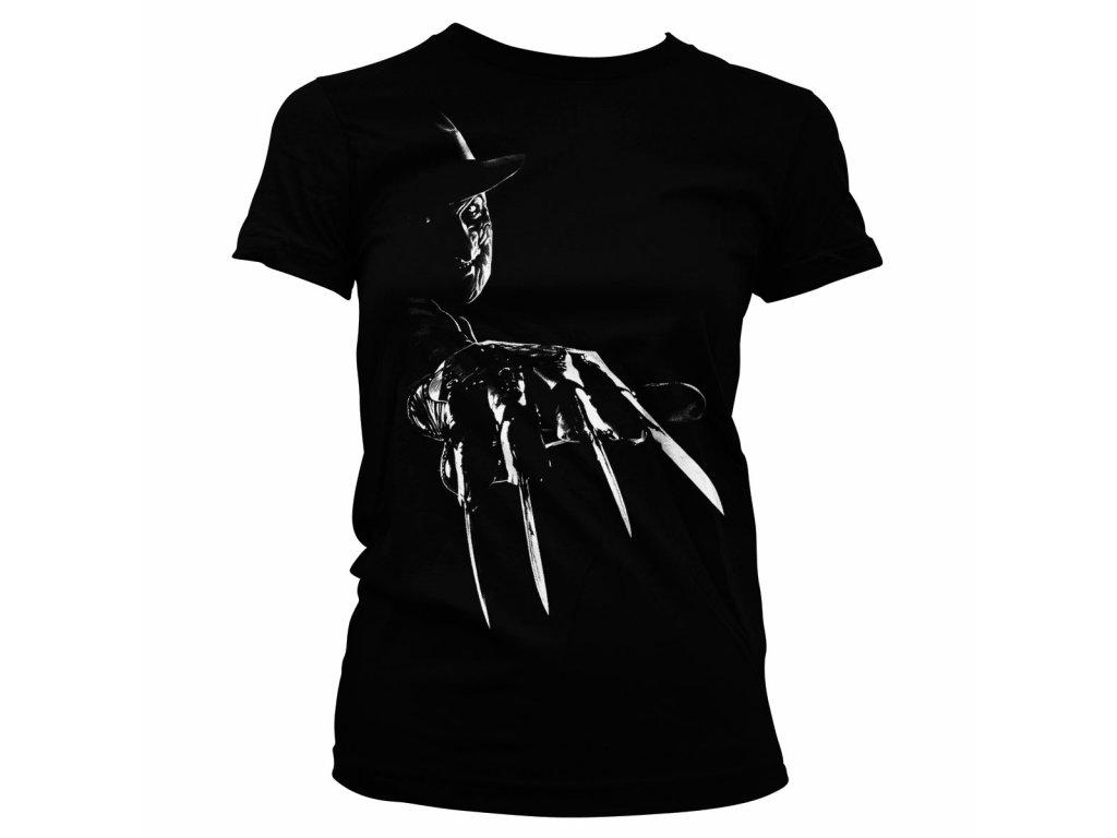 Dámské tričko Freddy Krueger (Výběr velikosti XXL)