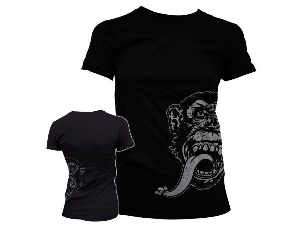 Dámské tričko Gas Monkey Sidekick (Výběr velikosti XXL)