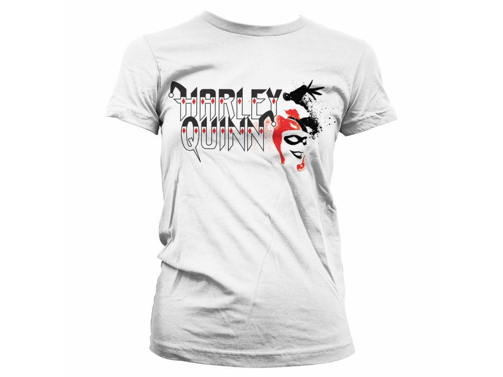 Dámské tričko Harley Quinn (Výběr velikosti XXL)