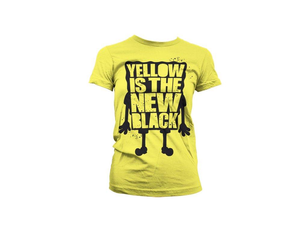 Dámské tričko Is The New Black (Výběr velikosti XXL)