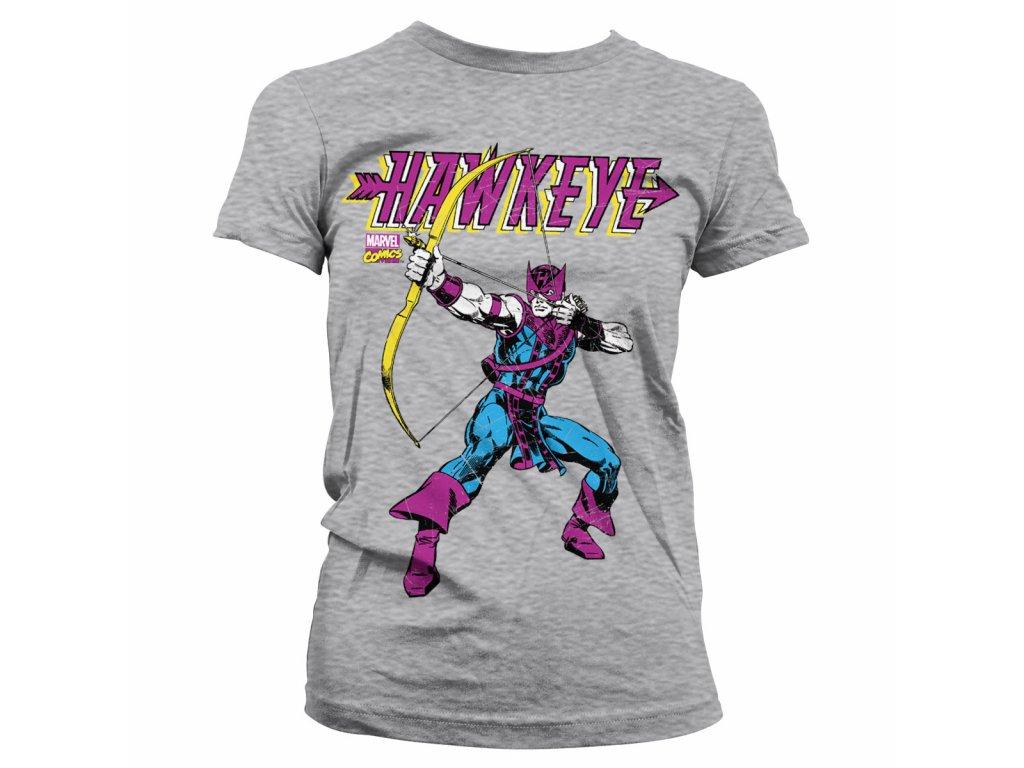 Marvels Hawkeye Girly T-Shirt (Výběr velikosti XXL)