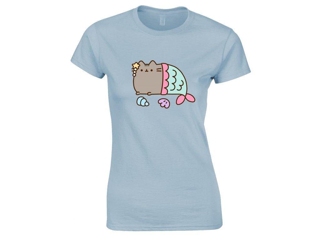 Dámské tričko PUSHEEN MERCAT (Veľkosť XL)